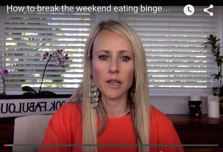 Losing the weekend binge.