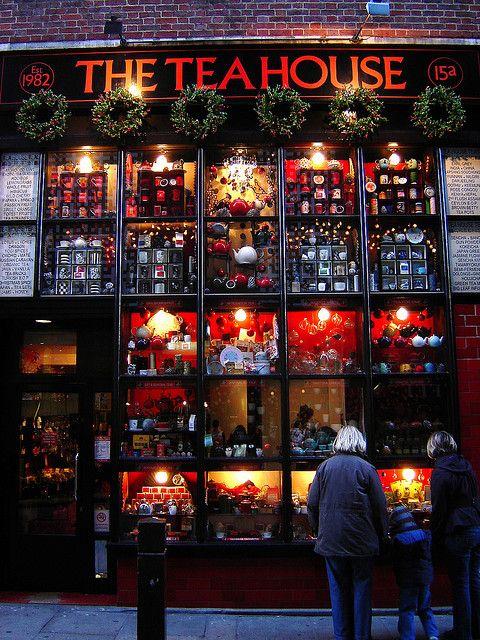 The Tea House on Neal Street, near Covent Garden, London, England.♔PM http://www.theteahouseltd.com/