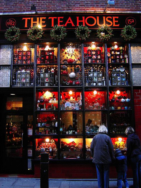 The Tea House on Neal Street, near Covent Garden, London, England.♔PM http://www.theteahouseltd.com/