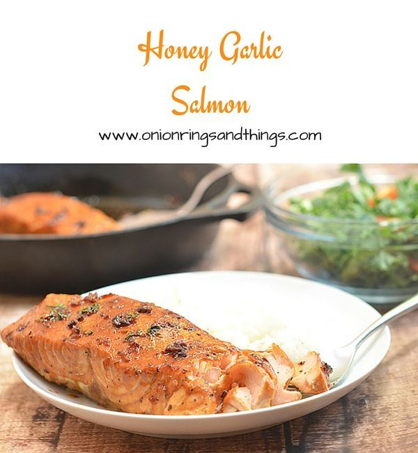 Dressed in honey, lime and garlic flavors, this honey garlic salmon is sure to become a family favorite