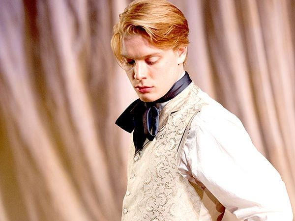 Freddie Fox was born on May 4, 1989 in London, England as Frederick Fox. Son of Edward Fox and Joanna David. Trained at the Guildhall School of Music and Drama and graduated in 2010. Younger brother of Emilia Fox. Nephew of James Fox and Robert Fox. He is the cousin of Laurence Fox.