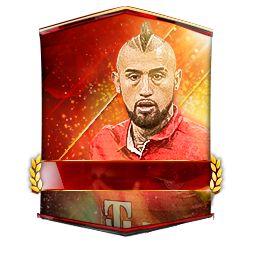 Arturo Vidal FIFA Mobile 17 - 98   Futhead