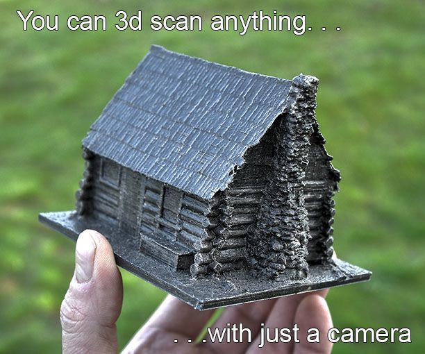 Picture of 3d scan anything using just a camera