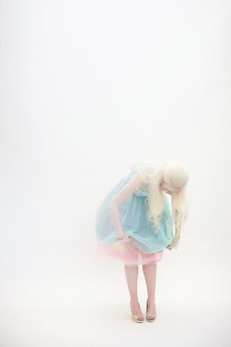beautiful images from max wanger x, looks like a Barbie doll getting ready to play