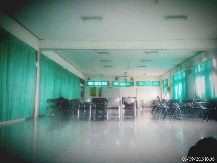 In my classroom.. In my campus.. Hmm