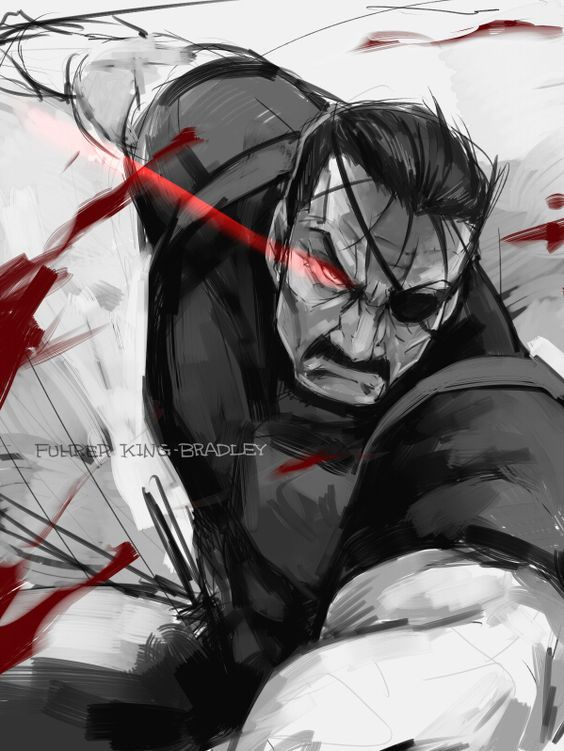 Fuhrer King Bradley Aka Wrath FMA Brotherhood Credits To The Artist