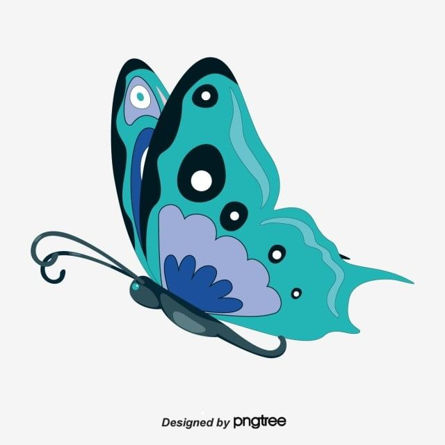 Flying Butterfly Clipart Butterfly Clipart Butterfly Vector Wings Png And Vector With Transparent Background For Free Download Butterfly Clip Art Butterflies Vector Cartoon Butterfly