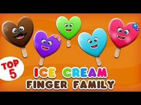 Ice Cream Finger Family Song | Top 5 Finger Family Songs Collection | Daddy Finger Rhyme