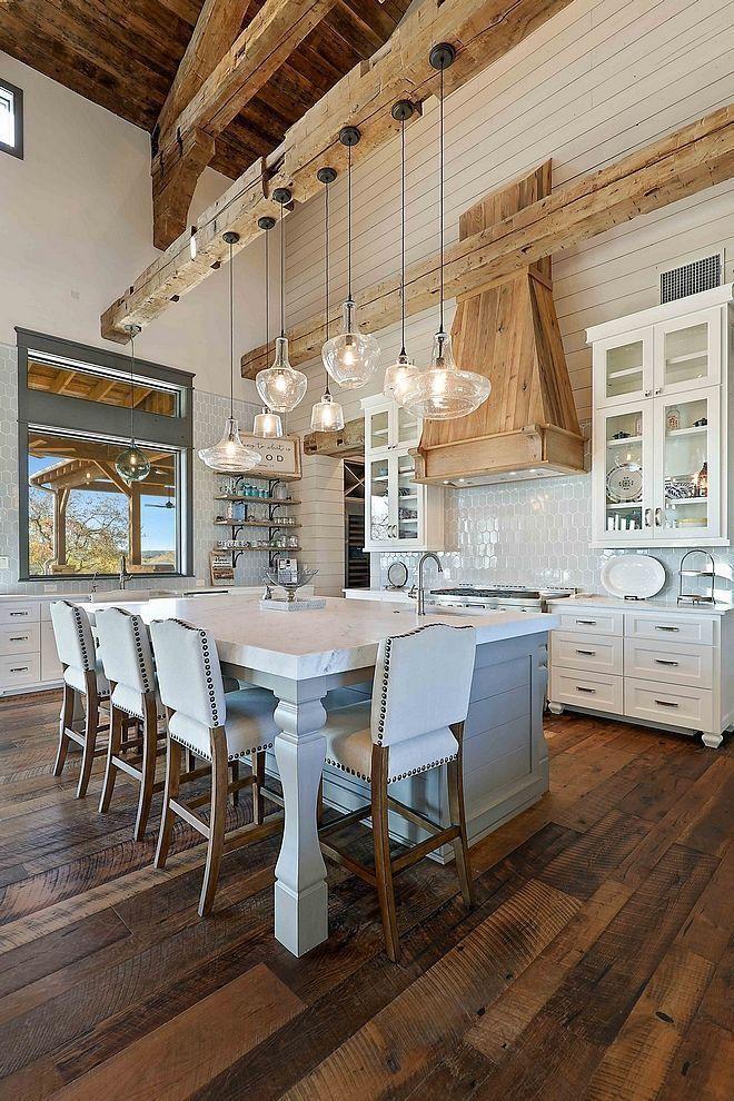 The Backsplash Ans Natural Wood Tones Together My Future Home - Wood-backsplash-exterior