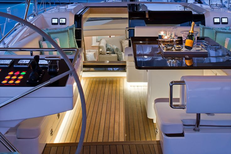 The Yacht Perfectly Replicates Feel Of Hill Houses Elegant And Plush Interiors They Are Known For On Dry Land
