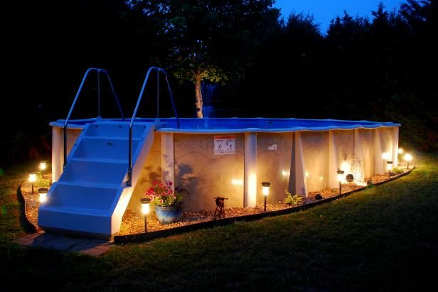 Solar Landscape Lighting for Above Ground Pool