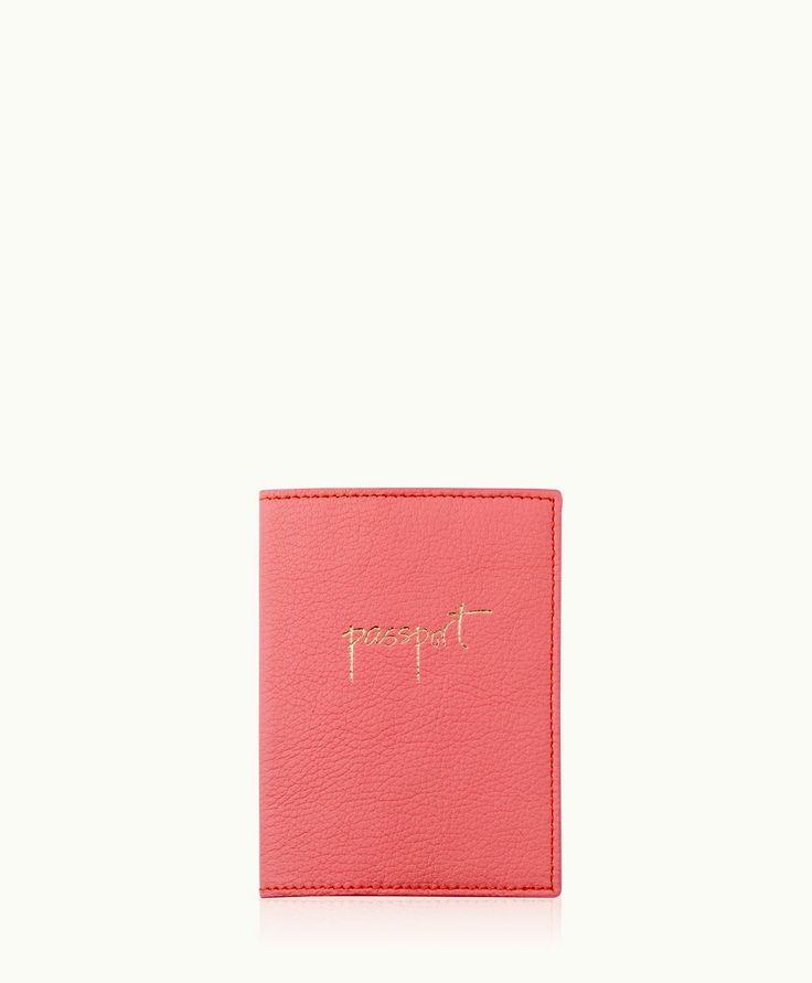 Leather Passport Case - Gold Fish Passport Case by VIDA VIDA 3i5HOAIFSC