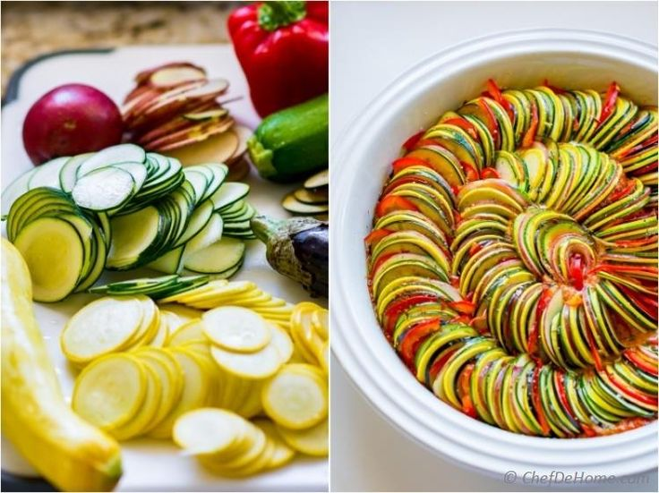 How to make Ratatouille recipe like Remy from the movie