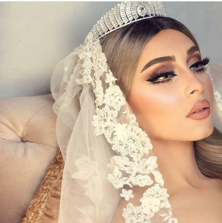 Pin Von Make Up Auf Make Up Schminke Fur Die Hochzeit Arabische Braut Make Up Braut