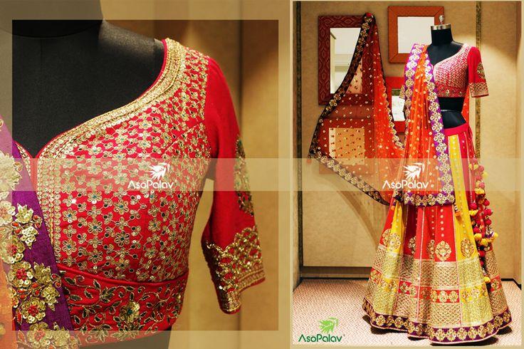 Look #drop dead #gorgeous, your #DDay demands it! #Asopalav #Brides2015 #Fashion #FemaleFashion #Ahmedabad #BridalFashion