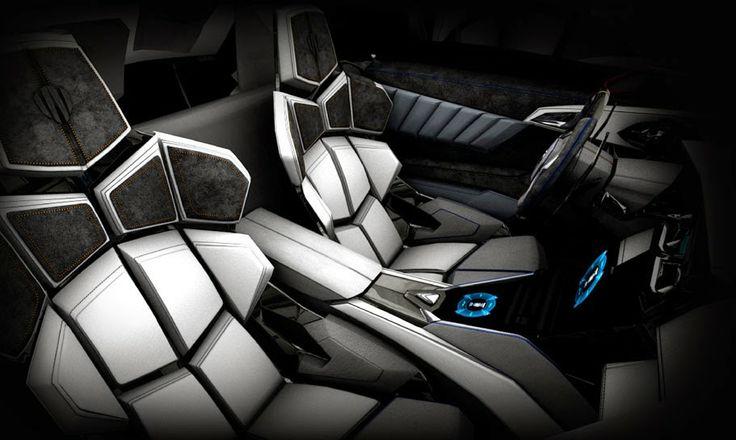 Wooow¡ Lykan Hypersport interior by W Motors #millionaires #luxury _______________________ WWW.PACKAIR.COM