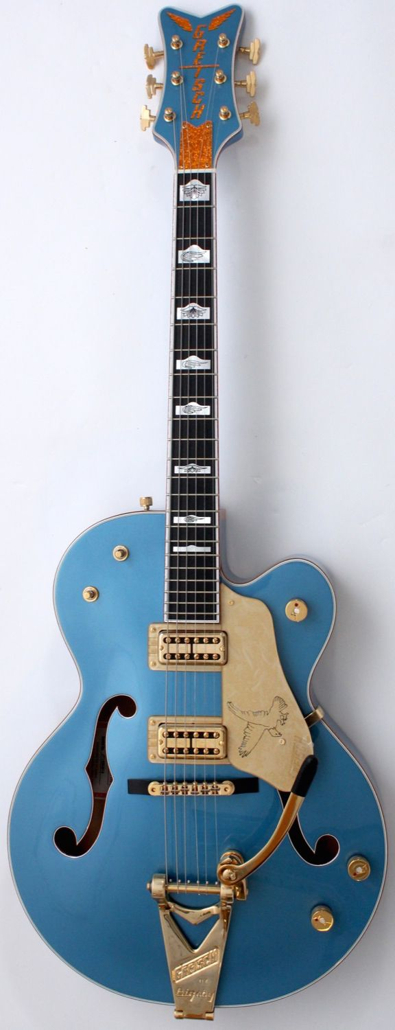 Gretsch G6136TTV-FSR Falcon Jr. Lake Placid Blue