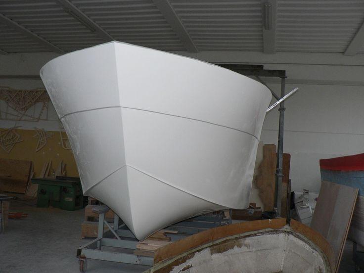 Barche da Pesca: Barca da pesca 8.70 professional in costruzione