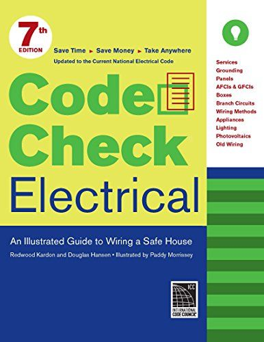 43 best codes standards books images on pinterest books online code check electrical an illustrated guide to wiring a s fandeluxe Image collections