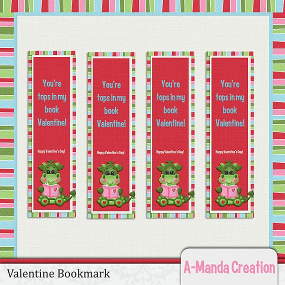 valentine's day bookmarks coloring pages