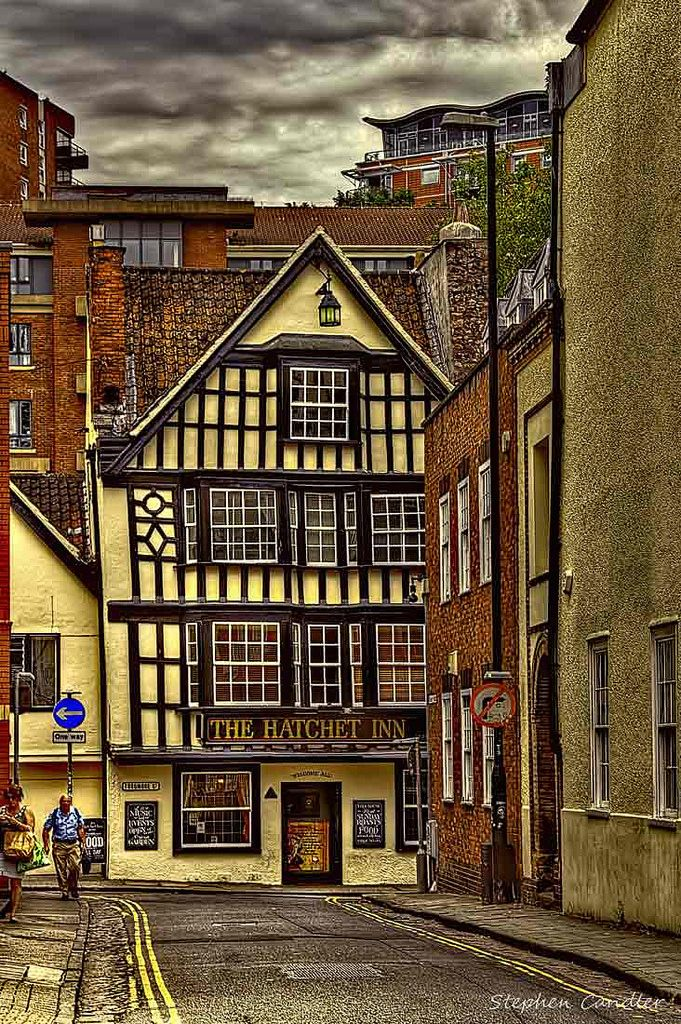 Hatchet Inn in Bristol, England.