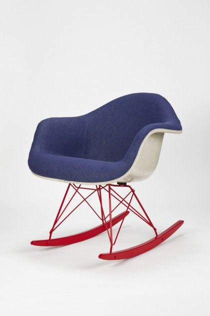 Jeans Rocking Chair Amazing Design
