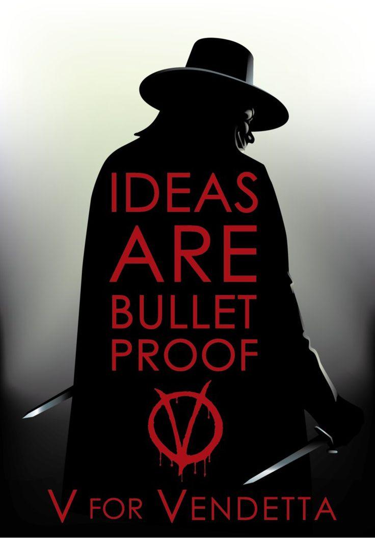 IlustraciónFan Artde una de lasAdaptaciones de Cómics y Novelas Gráficasa Películas mas Influyentes y Emblemáticas Actualmente:V For Vendetta&...