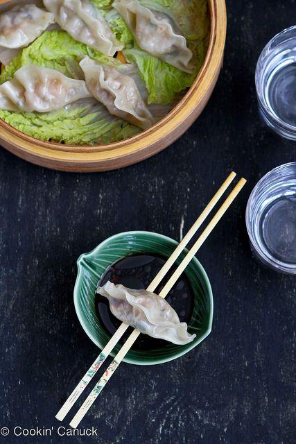 Steamed Shrimp & Mushroom Dumplings Recipe for Chinese New Year by ...