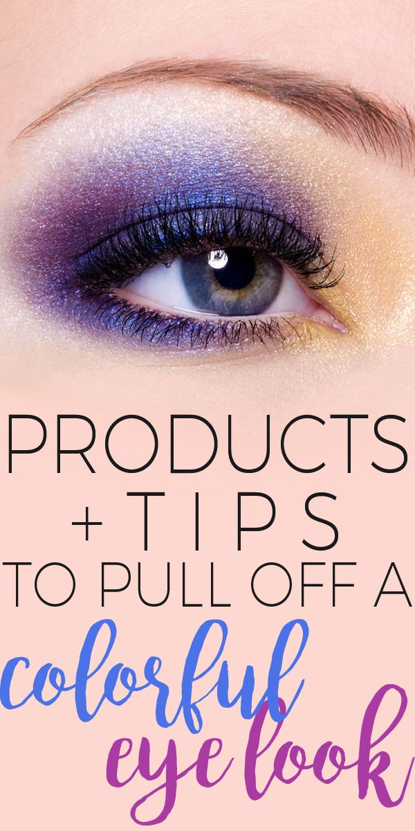 How to Pull Off a Colorful Eye Look
