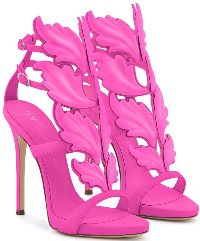20 Giuseppe Zanotti High Heel Sandals and Boots for Women. Find this Pin  and more on Fuschia Hot Pink. 4f645eb8f5