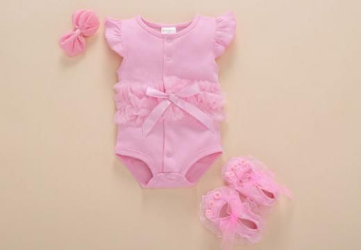 Newborn Baby Clothes One Pieces Jumpers 0 3 Months Girl Summer