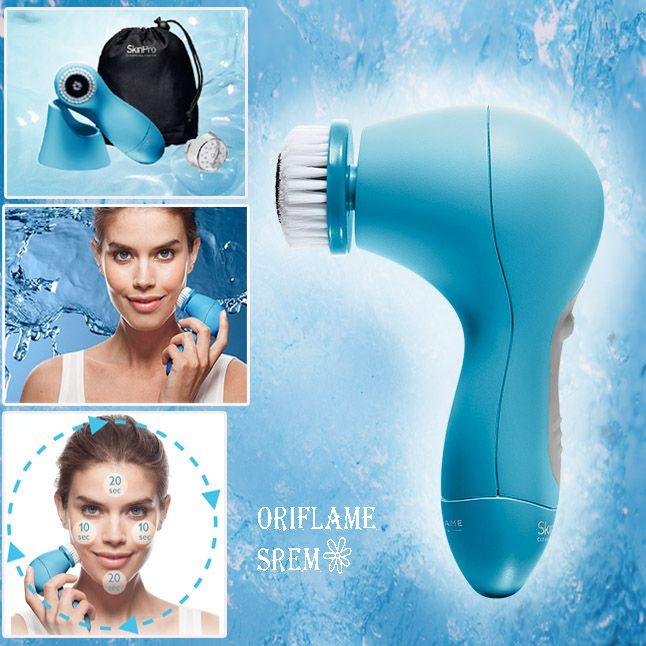SkinPro Cleansing System -Prilagođena četkica -Rotirajuća glava -Dve brzine -Automatsko isključivanje posle 1 minuta