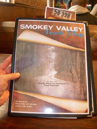 Smokey Valley Truck Stop Restaurant Olive Hill
