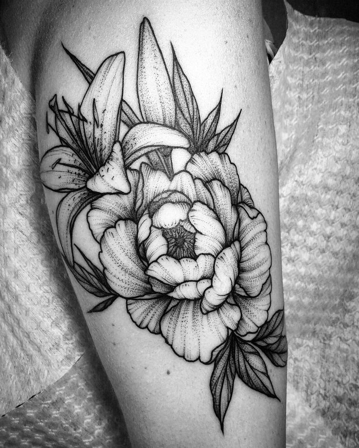 128 best images about flowers flores on pinterest for Tattoo de flores