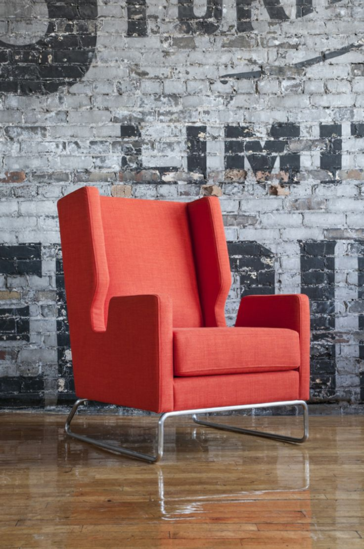 Gus* Modern | The Danforth Chair Will Be Introduced In Laurentian Sunset.  The Danforth