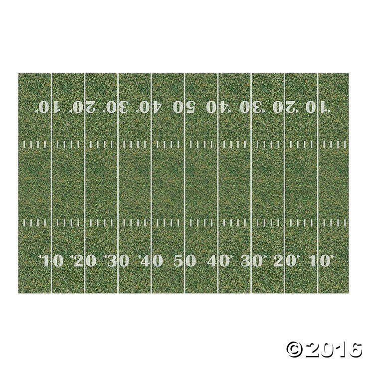 Football Field Backdrop - OrientalTrading.com