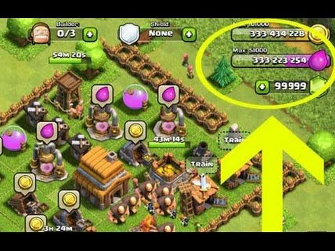 New Clash Of Clans Real Hack 2016 by surpercell | IOS/Android | Video Pr...