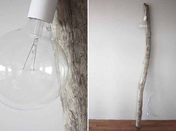 lampa na galezi