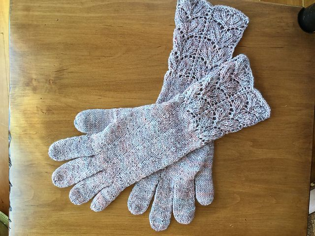 Knitted Gloves With Fingers Pattern Image collections - handicraft ...
