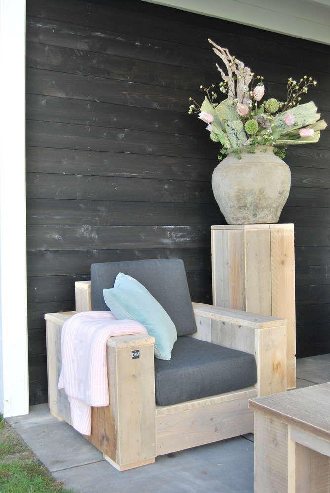 XXL Stuhl - Gartenmöbel aus Bauholz | Garten | Pinterest | Bauholz ...