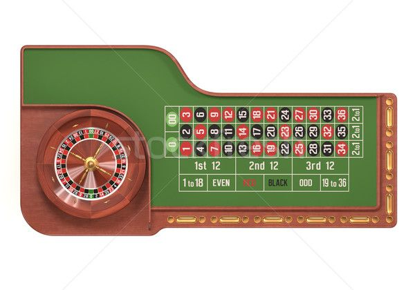 Roulette Table Over White stock photo (c) idesign (#4586559)   Stockfresh