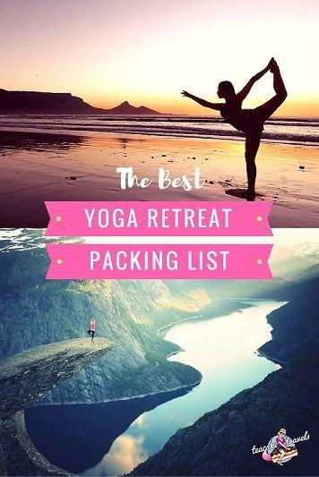 Yoga Retreat Packing List: