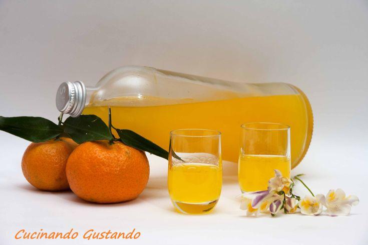 Liquore al mandarino fatto in casa | mandarinetto