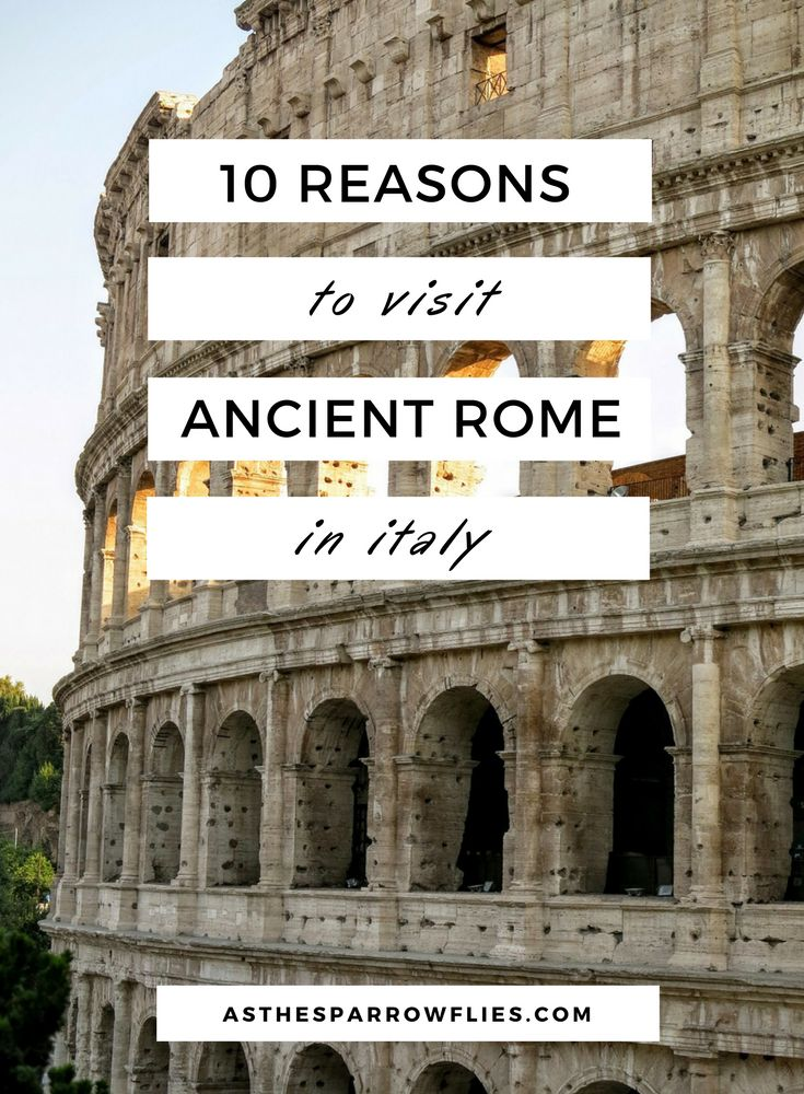 Visit Ancient Rome | Italy | Rome City Break | Europe Travel | Rome Tourist Spots via @SamRSparrow