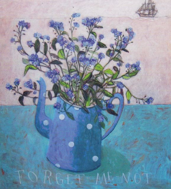 Andrea Letterie forget me not