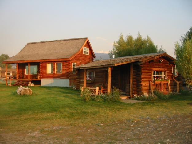 Pictures of anne kent cabins vacation rentals jackson hole for Cabin rentals in jackson hole wy