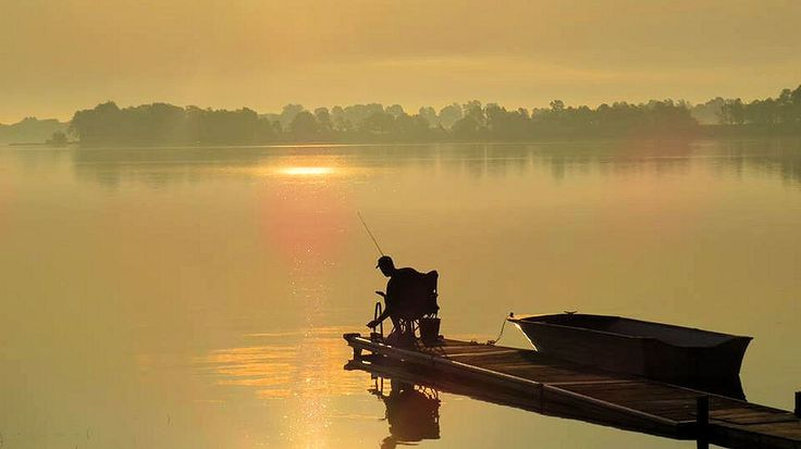 Peaceful morning for fishing, view of Waupoos Island in the background - Photo thanks to By-The-Bay Cottages  bythebaycottages.net