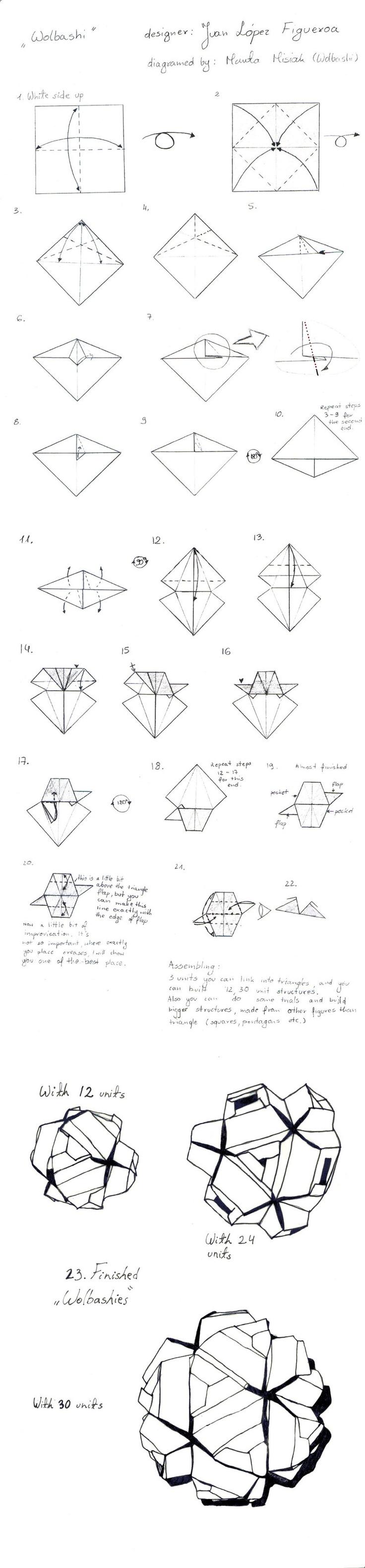135 best kusudamas images on pinterest modular origami paper kusudama wolbashi folding instructions origami instruction on imgfave pooptronica