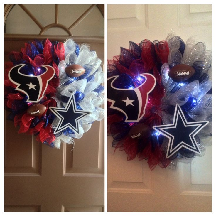 House divided    Dallas Cowboys.  Houston Texans Custom made to order.  Lvb959@yahoo.com