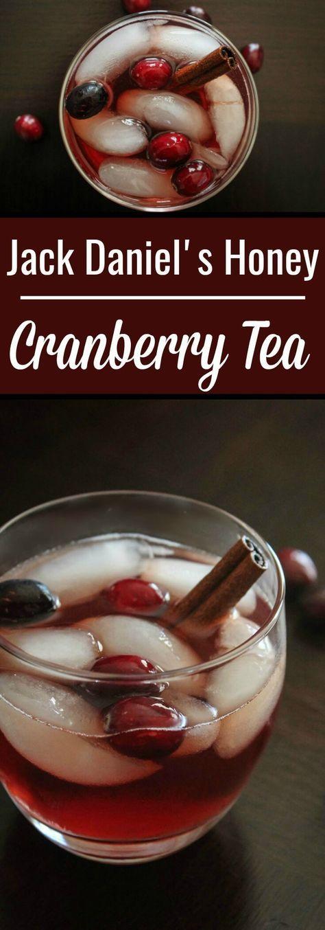 Jack Daniel's Honey Recipe : Jack Honey Cranberry Tea. The cinnamon stick and cranberry juice give this Honey Jack cocktail that seasonal taste.